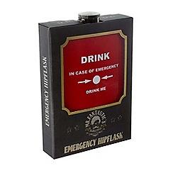 Debenhams - In case of emergency hip flask