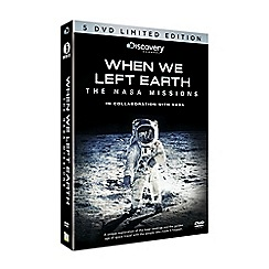 GO Entertain - When We Left Earth - The NASA missions DVD