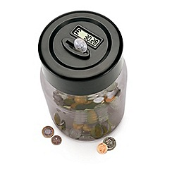 Gadget Co - Digital coin counting money jar