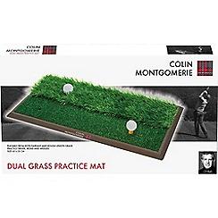 Colin Montgomerie Golf - Dual grass practice mat