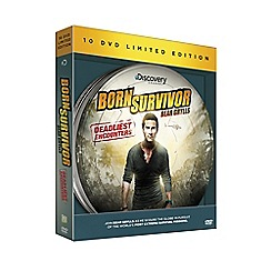 GO Entertain - Born Survivor: Deadliest Encounters DVD