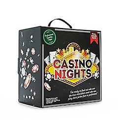 Debenhams - Casino Night deluxe poker party pack
