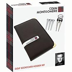 Colin Montgomerie Golf - Scorecard holder set