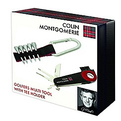 Colin Montgomerie Golf - Multitool and tee holder set