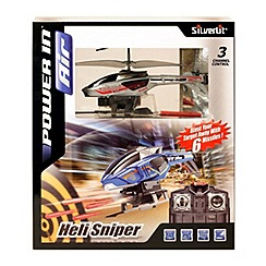 Silverlit - Infrared Heli Sniper Indoor Radio Controlled Helicopter