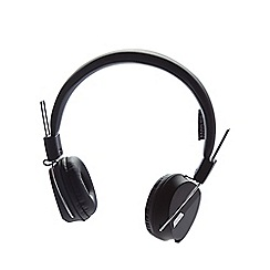 Debenhams - Black folding stereo headphones