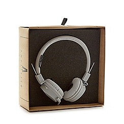 Debenhams - Grey folding stereo headphones