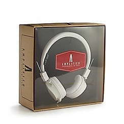 Debenhams - White folding stereo headphones