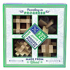 Puzzle Club - Brain busting puzzles 4 classic wooden puzzles