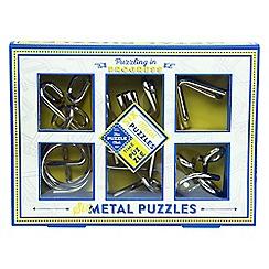 Puzzle Club - Brain busting puzzles 6 metal puzzles