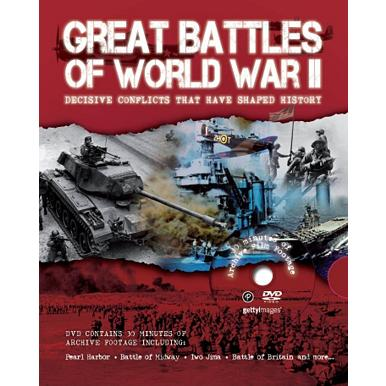 Great battles of WW2 & DVD set