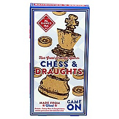 Puzzle Club - Chess draught set