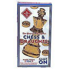 Professor Puzzle - Chess draught set