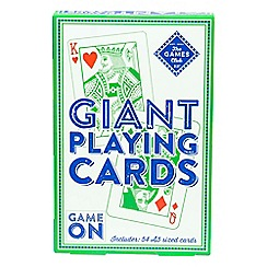 Puzzle Club - Giant playing cards