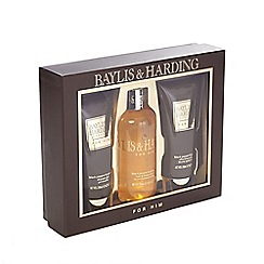 Baylis & Harding - Men's Black Pepper & Gensing 3 Piece Set