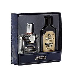 Hammond & Co. by Patrick Grant - Eau de toilette and body scrub gift set