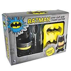 Batman - Egg cup & toast cutter