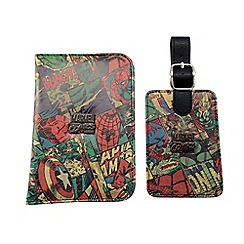 Marvel - Passport & luggage tag