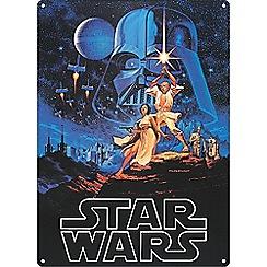 Star Wars - Tin signs