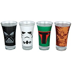 Star Wars - Set of 4 shot glasses