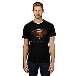 Sticks & Stones - Black 'Man of Steel' t-shirt