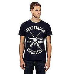 Sticks & Stones - Navy 'Quidditch' t-shirt