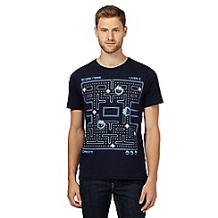 Sticks & Stones - Navy 'Cookie Monster Pac-Man' t-shirt