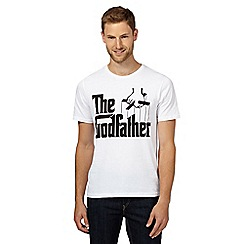 Sticks & Stones - White 'The Godfather' t-shirt