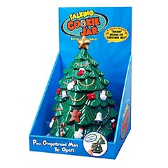 Fizz - Talking Christmas Tree Cookie Jar
