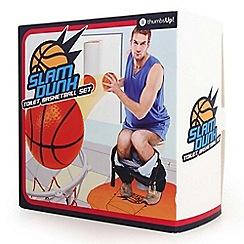 Thumbs Up - Slam dunk toilet basketball