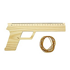Debenhams - Rubber band ruler gun