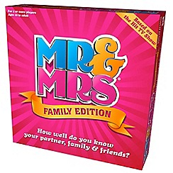 Debenhams - Mr & mrs board game