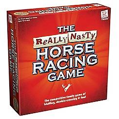 Debenhams - Really nasty horse racing game