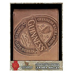 Guinness - 2015 collectors leather wallet - brown