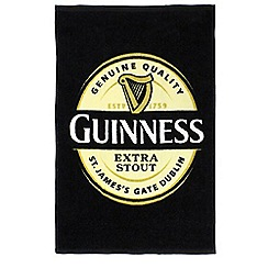 Guinness - Cotton label tea towel