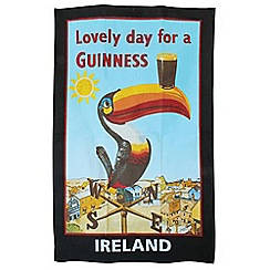 Guinness - Cotton toucan tea towel