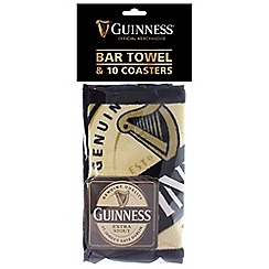 Guinness - Bar towel & 10 coasters