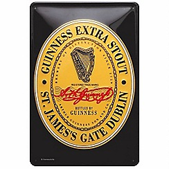 Guinness - Heritage label metal sign