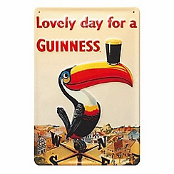 Guinness - Toucan weathervane metal sign