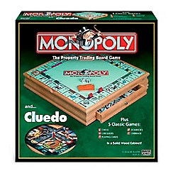 Hasbro Gaming - Monopoly and Cluedo Compendium Board Game