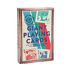 Debenhams - Giant Playing Cards