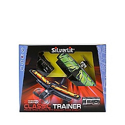 Silverlit - 2.4 GHz 2-Channel X-Twin Classic Trainer Radio Control Biplane (Multi-Colour)