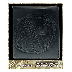 Guinness - Black leather wallet