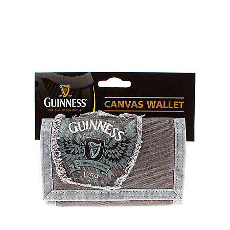 Guinness - Grey canvas wallet