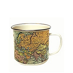 Debenhams - Man Of The World Pale Enamel Mug