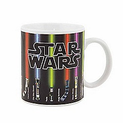 Star Wars - Lightsaber heat change mug