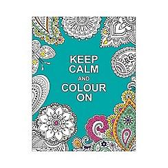 Penguin - Keep calm and colour on