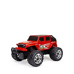 New Bright - 1:18 Remote Control Chargers Full Function 4-door Jeep