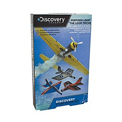 Discovery Channel - Stunt plane set