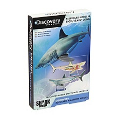Discovery Channel - 3D shark anatomy model